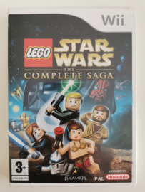 Wii LEGO Star Wars - The Complete Saga (CIB) UXP