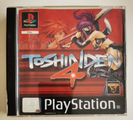 PS1 Toshinden 4 (CIB)