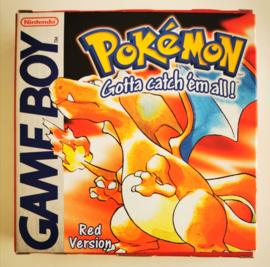 GB Pokémon Red Version (Box + Cart) NHAU-1