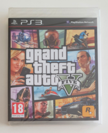 PS3 Grand Theft Auto V (Factory Sealed)