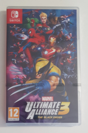 Switch Marvel Ultimate Alliance 3: the Black Order (factory sealed) HOL