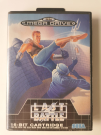 Megadrive Last Battle (Box + Cart)