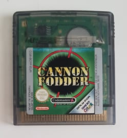 GBC Cannon Fodder (cart only) EUR