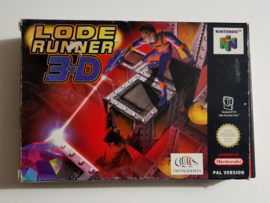 N64 Lode Runner 3D (Box + Cart) EUR