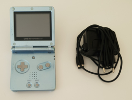 Gameboy Advance SP Pearl Blue AGS-001