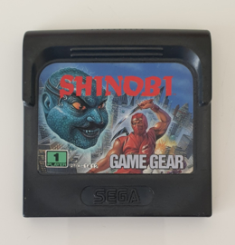 Game Gear Shinobi (cart only)