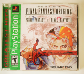 PS1 Final Fantasy Origins - Greatest Hits (CIB) NTSC/US
