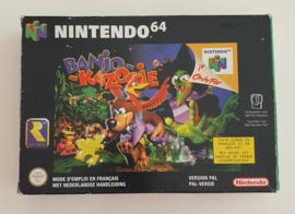 N64 Banjo Kazooie (CIB) NFAH