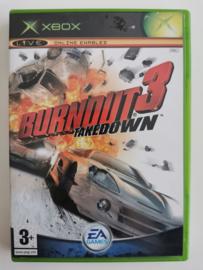 Xbox Burnout 3 Takedown (CIB)