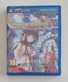 PS Vita Dungeon Travelers 2 - The Royal Library & The Monster Seal (factory sealed)