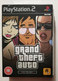 PS2 Grand Theft  Auto - The Trilogy Big Box Set (CIB)