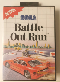 Master System Battle Out Run (CIB)