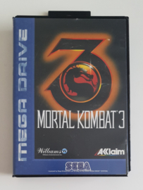 Megadrive Mortal Kombat 3 (Box + Cart)