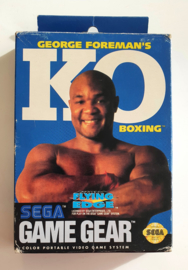 Game Gear George Foreman's KO Boxing (Box + Cart) US Version