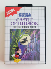 Master System Castle of Illusion - Starring Mickey Mouse (CIB)