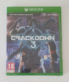 Xbox One Crackdown 3 (factory sealed)