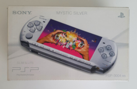 PSP 3004 Slim & Lite Mystic Silver (boxed without inlay)