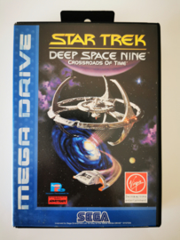 Megadrive Star Trek Deep Space Nine - Crossroads of Time (Box + Cart)