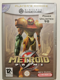 Gamecube Metroid Prime - Player's Choice (CIB) HOL