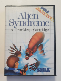 Master System Alien Syndrome (CIB)