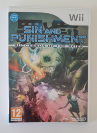 Wii Sin and Punishment - Successor of the Skies (CIB) HOL