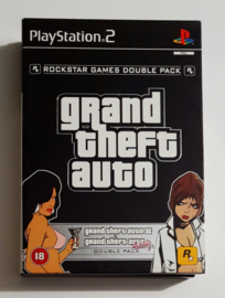 PS2 Grand Theft Auto Double Pack (CIB)