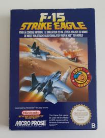 NES F-15 Strike Eagle (Box + Cart) FRA