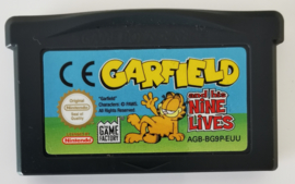 GBA Garfield and the Nine Lives (cart only) EUU
