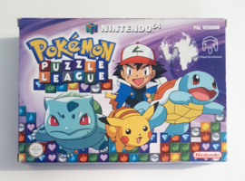 N64 Pokémon Puzzle League (CIB) NHEU