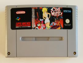 SNES Cool World (cart only) ESP