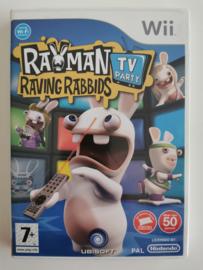 Wii Rayman Raving Rabbids TV Party (CIB) FAH