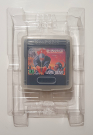 Plastic Inlay for Game Gear Games