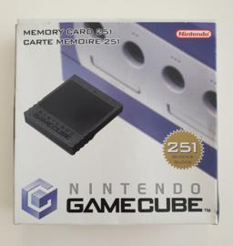 Gamecube Memory Card 251 Blocks (complete)