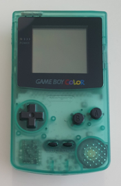 Gameboy Color Clear Emerald (reshelled)