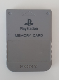 PS1 Official Memory Card