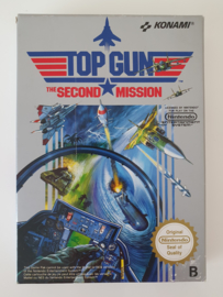 NES Top Gun - The Second Mission (CIB) FRA