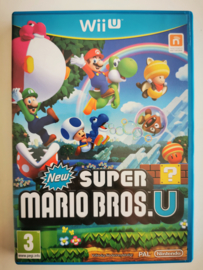 Wii U New Super Mario Bros U (CIB) HOL