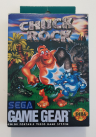 Game Gear Chuck Rock (CIB) US version