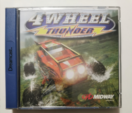 Dreamcast 4 Wheel Thunder (CIB)