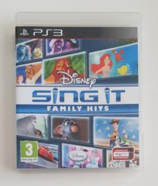 PS3 Disney Sing It Family Hits (CIB)