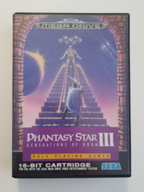 Megadrive Phantasy Star III - Generations of Doom (CIB)