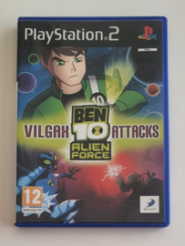 PS2 Ben 10 Alien Force: Vilgax Attacks (CIB)