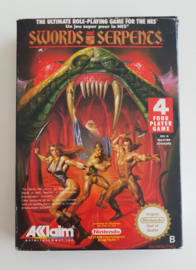 NES Swords and Serpents (CIB) HOL