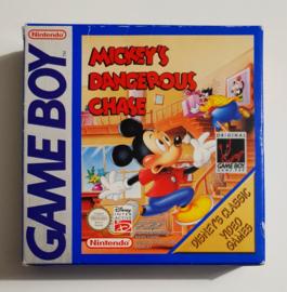 GB Mickey's Dangerous Chase - Disney's Classic Video Games (CIB) NFAH