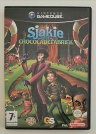 Gamecube Sjakie en de Chocoladefabriek (CIB) HOL