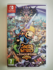 Switch Snack World The Dungeon Crawl GOLD (factory sealed) HOL