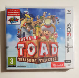 3DS Captain Toad: Treasure Tracker (factory sealed) HOL
