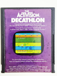 Atari 2600 The Activision Decathlon (cart only)