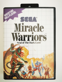 Master System Miracle Warriors (CIB) Without Map