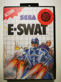 Master System E-Swat (Box + Cart)